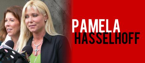 Debra Opri represented Pamela Hasselhoff